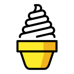 Soft Ice Cream openmoji emoji