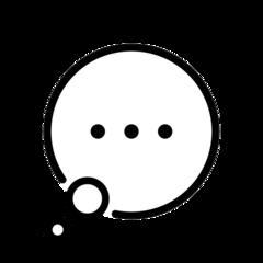 Speech Balloon openmoji emoji
