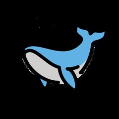 Spouting Whale openmoji emoji
