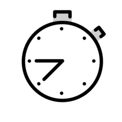 Stopwatch openmoji emoji