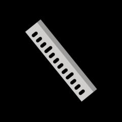Straight Ruler openmoji emoji