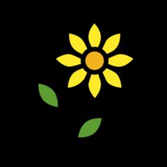 Sunflower openmoji emoji