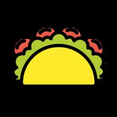 Taco openmoji emoji