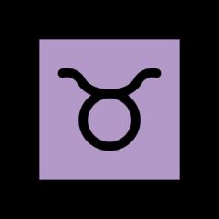 Taurus openmoji emoji