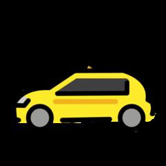Taxi openmoji emoji
