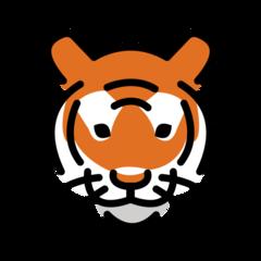 Tiger Face openmoji emoji