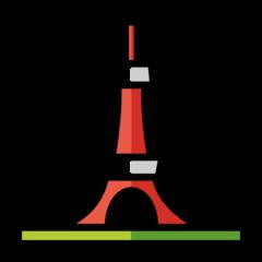 Tokyo Tower openmoji emoji