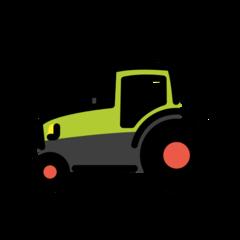Tractor openmoji emoji