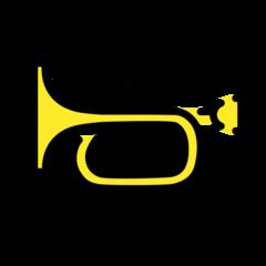 Trumpet openmoji emoji