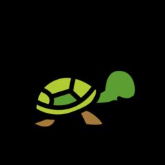 Turtle openmoji emoji