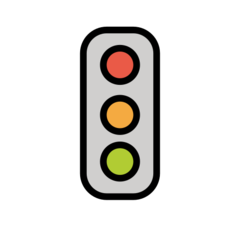 Vertical Traffic Light openmoji emoji