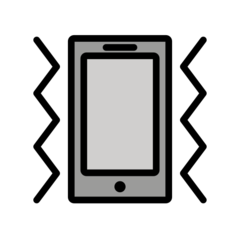 Vibration Mode openmoji emoji