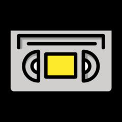 Videocassette openmoji emoji