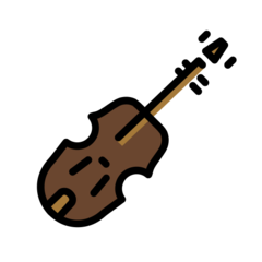 Violin openmoji emoji