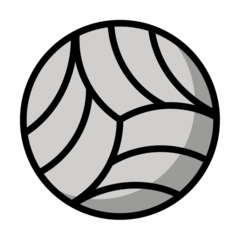Volleyball openmoji emoji