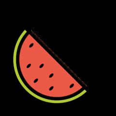 Watermelon openmoji emoji