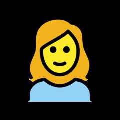 Woman openmoji emoji