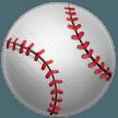 Baseball samsung emoji