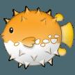Blowfish samsung emoji