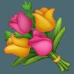Bouquet samsung emoji