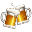 Clinking Beer Mugs samsung emoji
