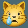 Crying Cat Face samsung emoji