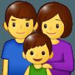 Family samsung emoji
