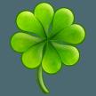 Four Leaf Clover samsung emoji