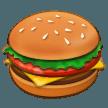 Hamburger samsung emoji