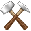 Hammer And Pick samsung emoji