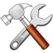 Hammer And Wrench samsung emoji