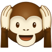 Hear-no-evil Monkey samsung emoji