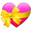 Heart With Ribbon samsung emoji