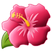 Hibiscus samsung emoji