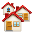House Buildings samsung emoji
