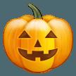 Jack-o-lantern samsung emoji