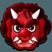 Japanese Ogre samsung emoji