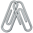 Linked Paperclips samsung emoji