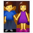 Man And Woman Holding Hands samsung emoji