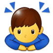 Person Bowing Deeply samsung emoji