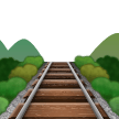 Railway Track samsung emoji