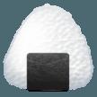 Rice Ball samsung emoji
