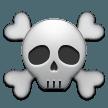 Skull And Crossbones samsung emoji