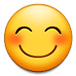 Smiling Face With Smiling Eyes samsung emoji
