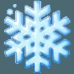 Snowflake samsung emoji