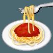 Spaghetti samsung emoji