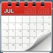 Spiral Calendar Pad samsung emoji