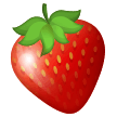Strawberry samsung emoji
