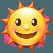 Sun With Face samsung emoji