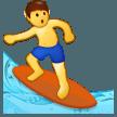 Surfer samsung emoji